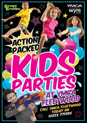 Kids Parties at YMCA Fleetwood