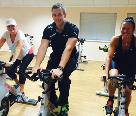 Spinning at YMCA St Annes