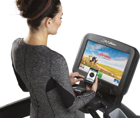 Life Fitness Discover Treadmill