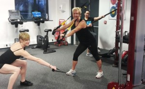 Synrgy workout at YMCA Poulton