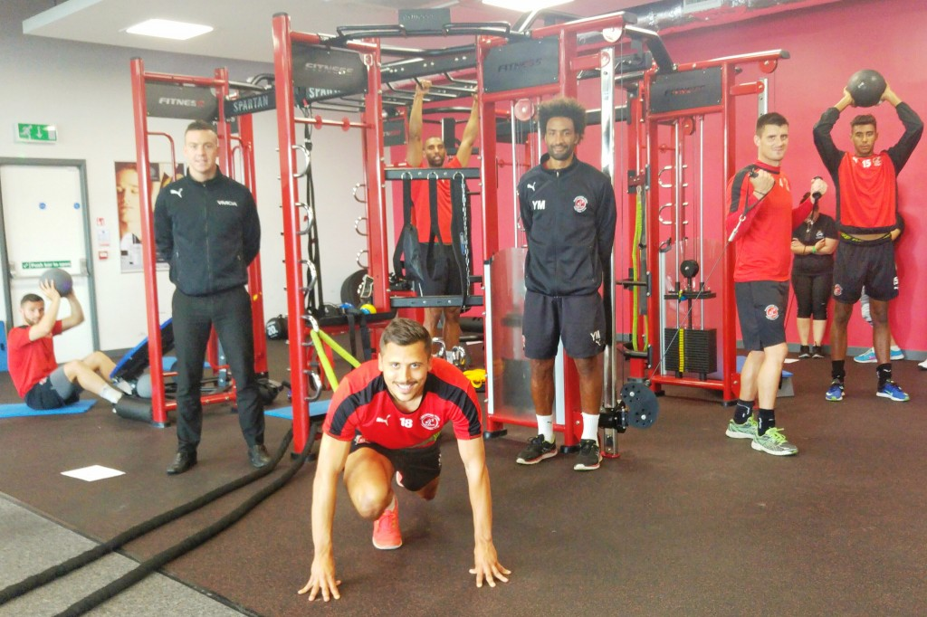 Fleetwood town on spartan fylde coast ymca y active - Fitness first gyms with swimming pools ...