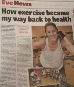 Julie Brown Blackpool Gazette